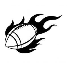 Fire Football dxf File