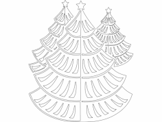 Festive Things 08 dxf File