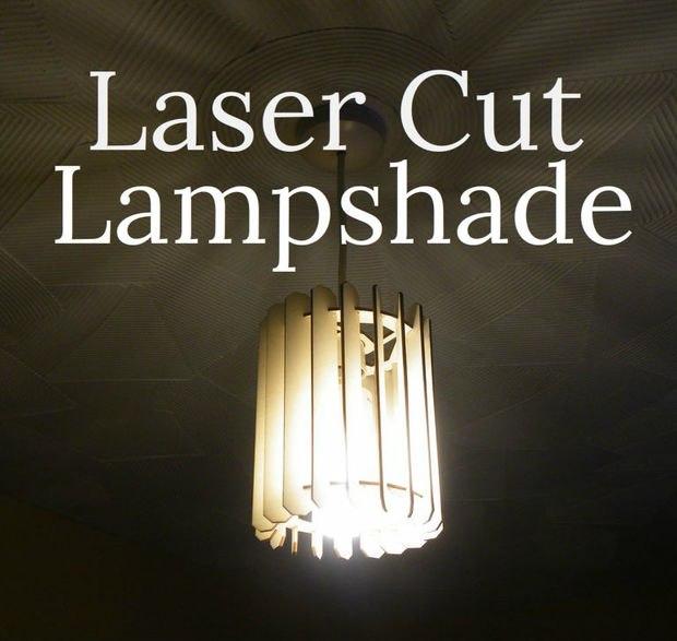 Slatted Lamp dxf File