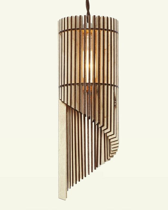 Plywood Lamp Free Vector