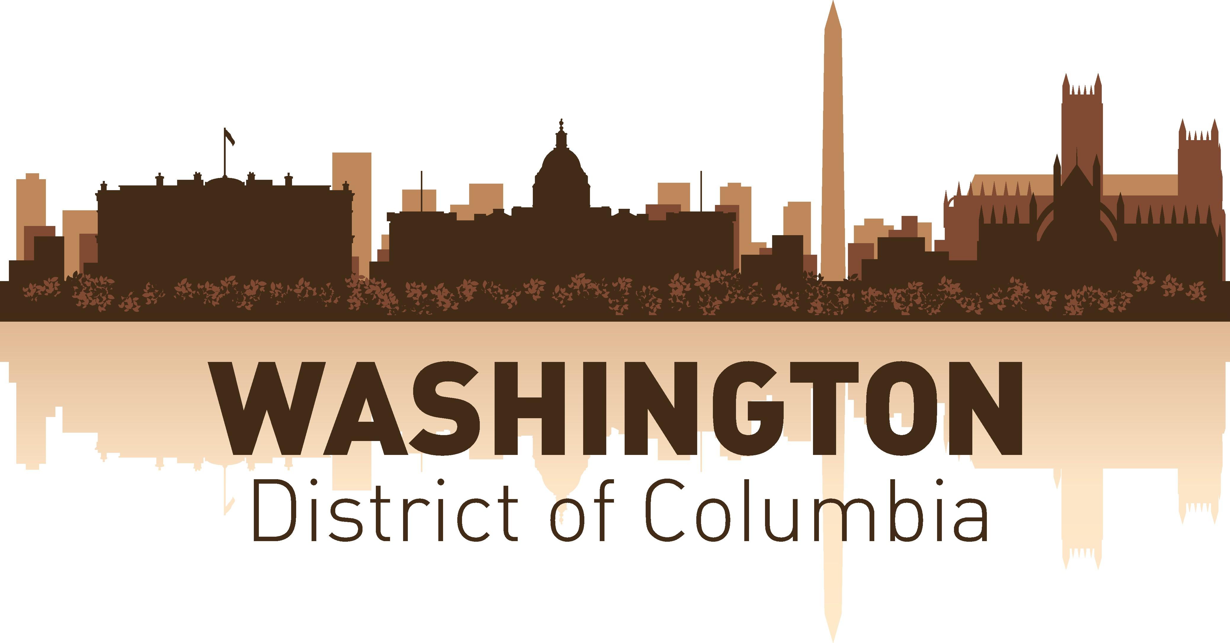 Washington Skyline Free Vector