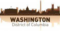 Washington Skyline Free Vector