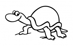 Turtle (1) dxf File