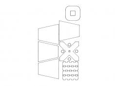 Abajur (Lampshade) dxf File
