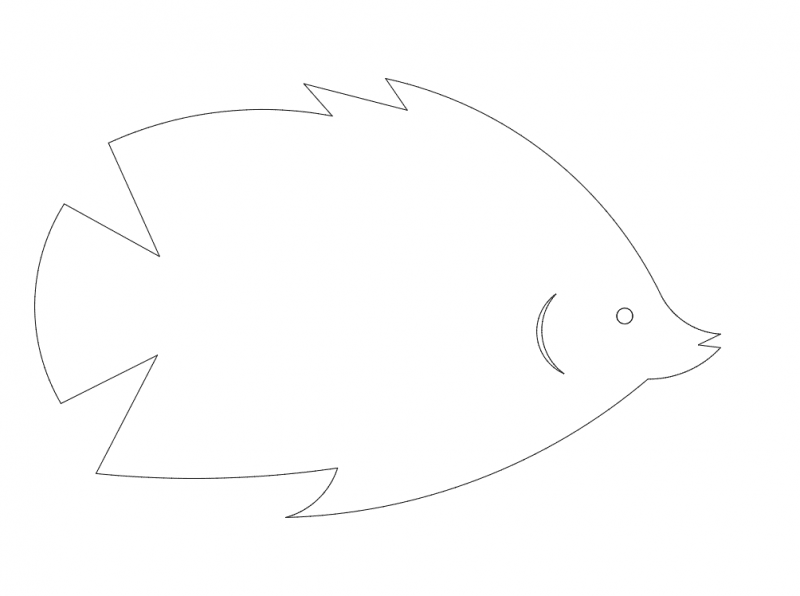 Fish Small dxf File