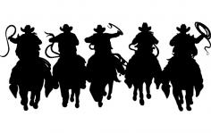 Horsemen 5 dxf File