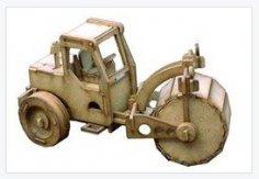 Tractor Compressor Roller CDR File