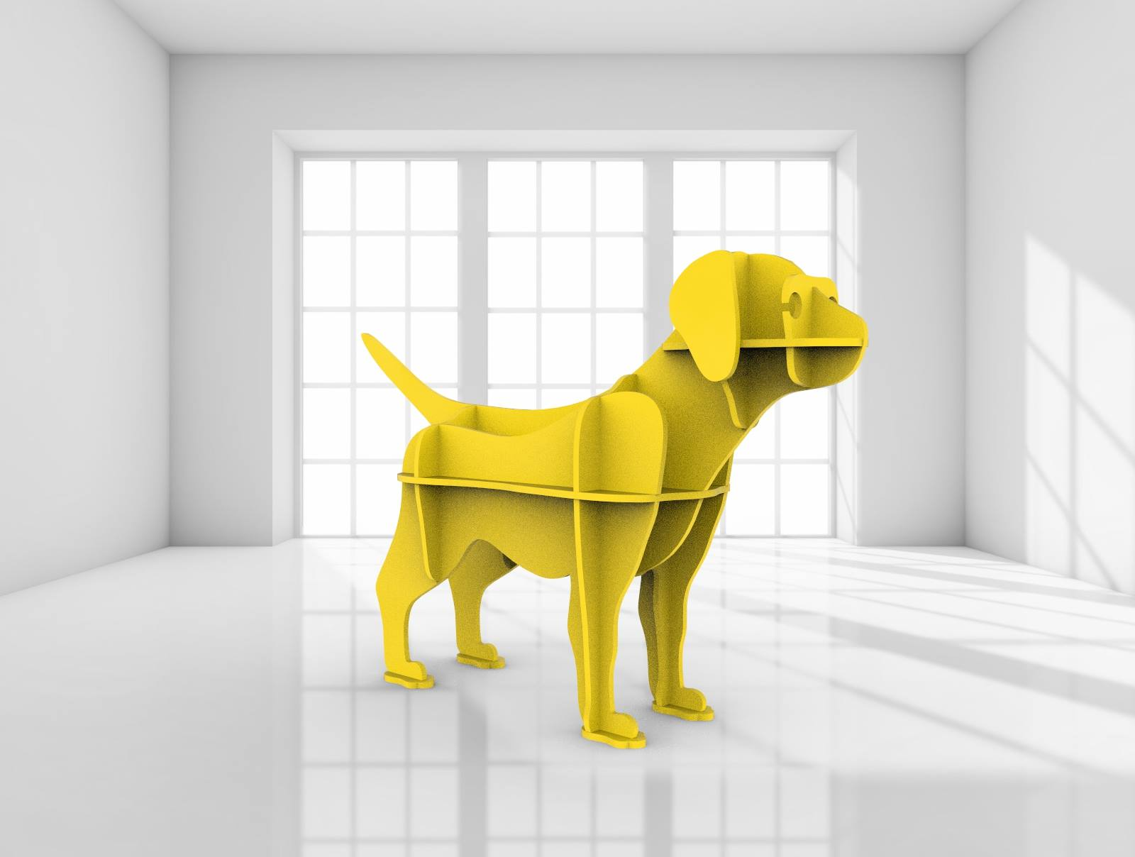 Puppy 3D dxf File