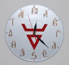 Rus Clock DXF File
