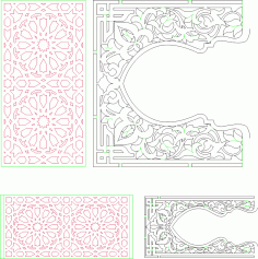 Moroccan Pattern CDR File