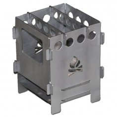 Mini Camping Stove 1mm Plans for CNC