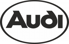 Audi Logo Vector CDR File