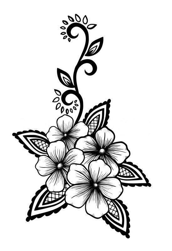 Flowers Vector Art jpg Image