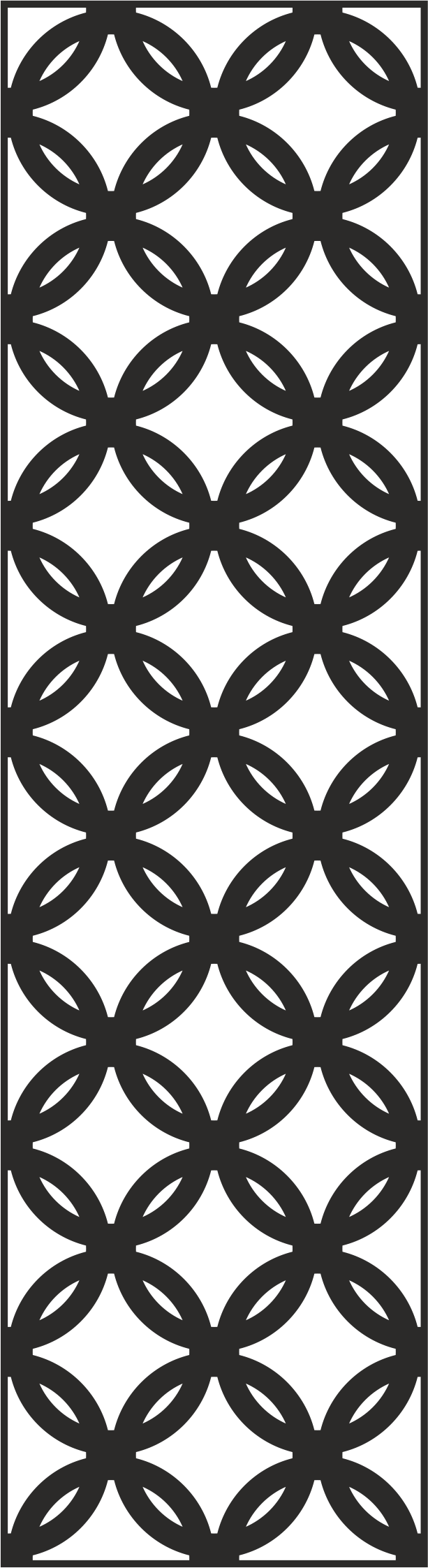 Laser Cut Metal Screen Pattern Vector Free Vector