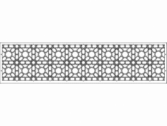 Grille Patterns spr10x2 dxf File