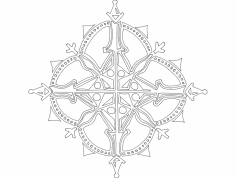 Festive Things 20 dxf File
