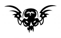 skull 21 dxf File