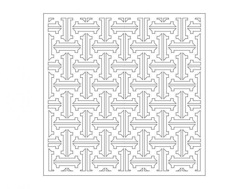 Ornamental 1 dxf File