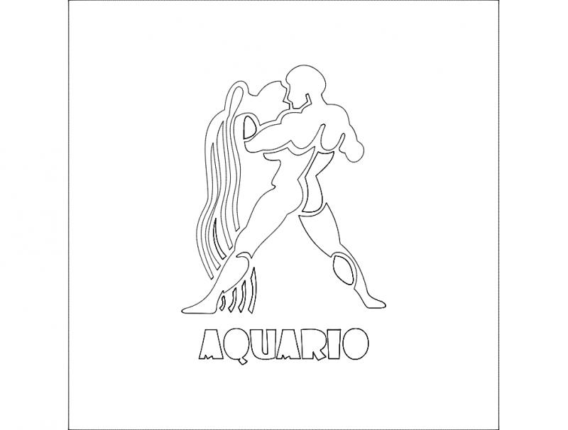 Aquario dxf File