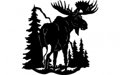 Moose 1 dxf File