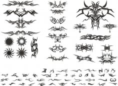 Tribal Vectors Free Vector