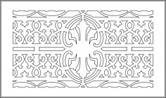 Decorative Pattern vector art EPS File