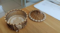 Laser Cut Yurt DXF File