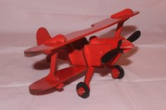 Laser Cut Airplane Plywood 3mm Free Vector