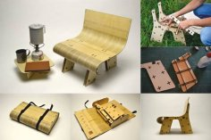 Mini Chair DXF File