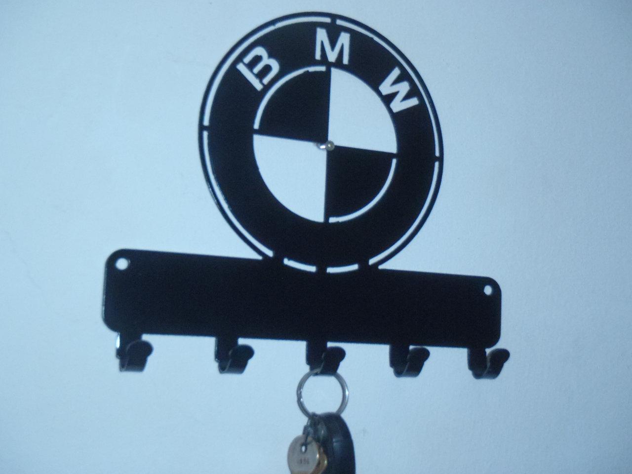 BMW Wall Hanger Plasma CNC Laser Cut Template Free Vector