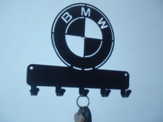 BMW Wall Hanger Plasma CNC Laser Cut Template Free Vector