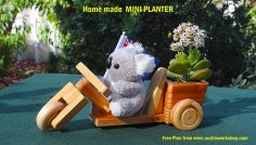 fun-O-Trike Wooden Toy Template PDF File