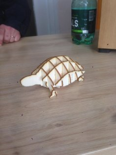 Laser Cut Turtle 3mm Plywood Free Vector