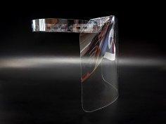 Laser Cut Face Shield Free Vector