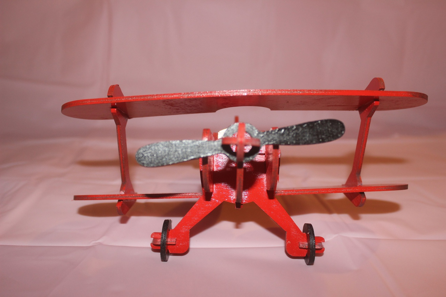 Laser Cut Wooden Airplane Toy For Kids Free Vector