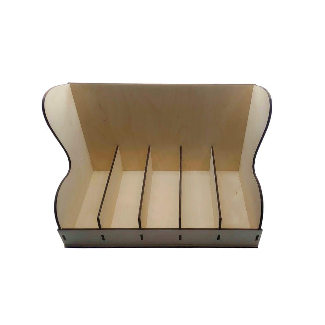 Laser Cut Coffee Cup Organizer Storage Rack Free Vector