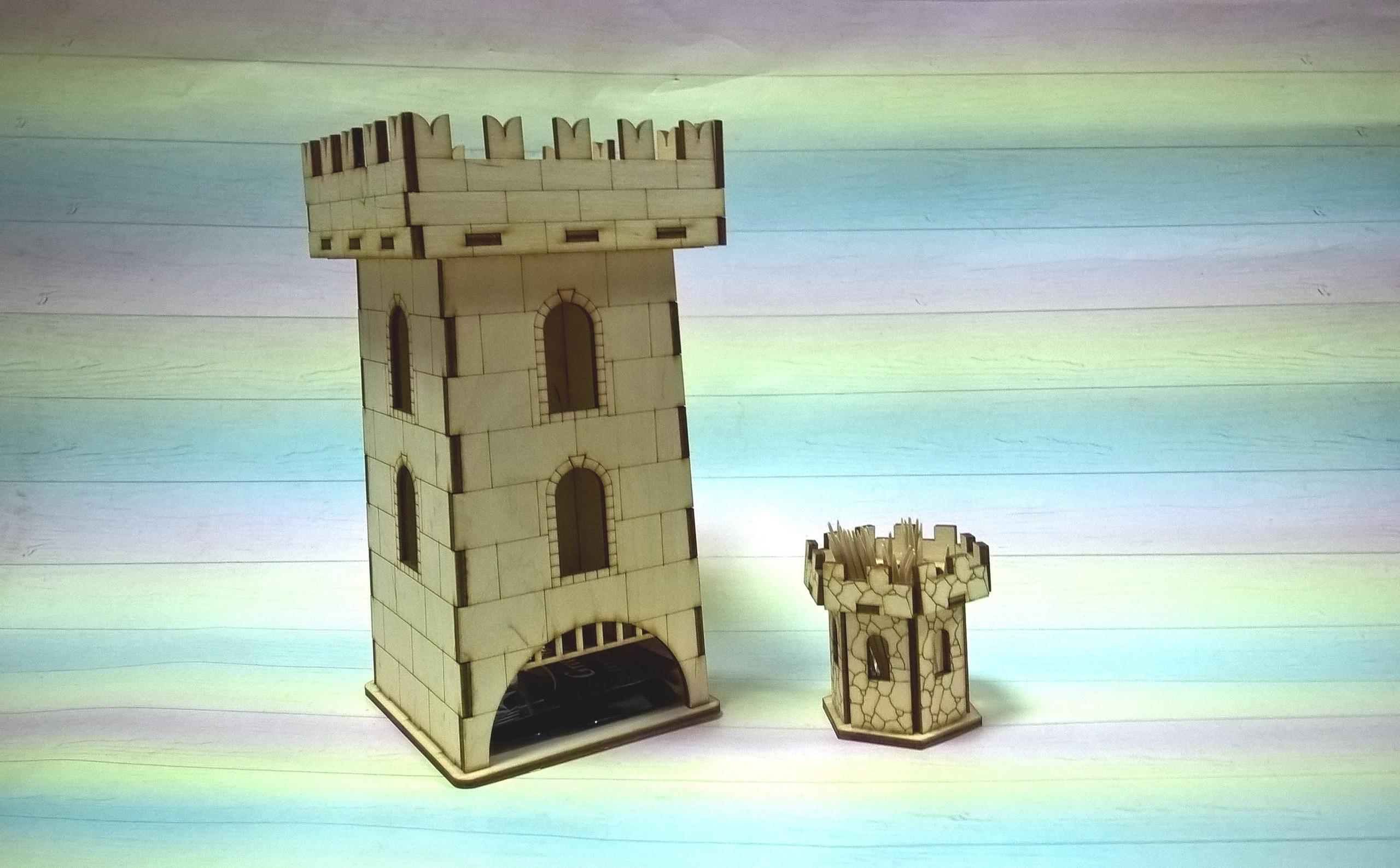 Laser Cut Wooden Tea House Fort Template Free Vector
