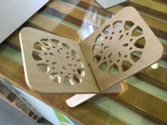 Laser Cut Rahl Book Holder Stand PDF File