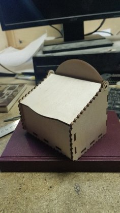 Laser Cut Plywood Box with Lid 4Mm Free Vector