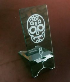 Laser Cut Cell Phone Holder Acrylic 3mm SVG File