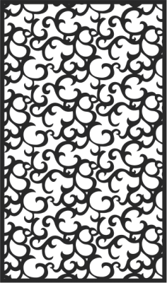Black Seamless Lace Pattern Free Vector