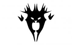 Demonmask dxf File
