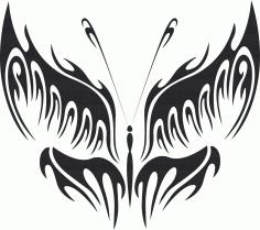 Butterfly Vector Art 016 Free Vector