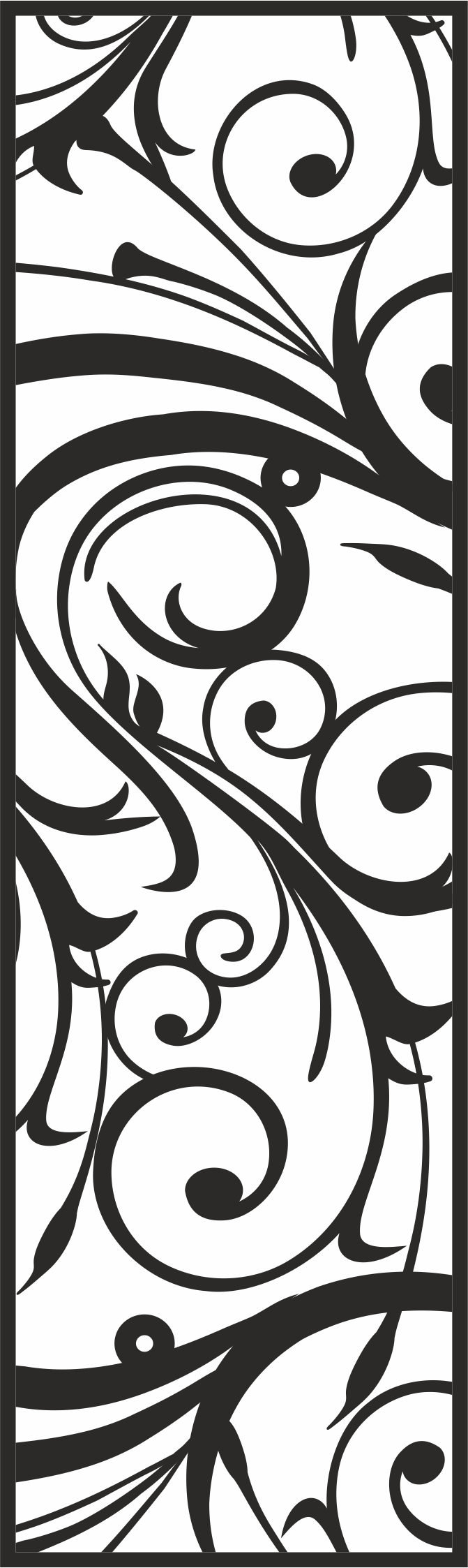 Vector Floral CDR File