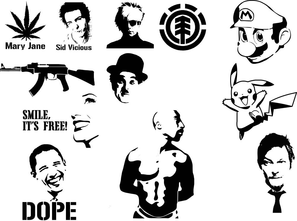 Auto Stickers CDR File