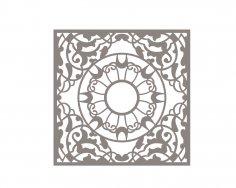 Geometric Mandala Vector Art Free Vector