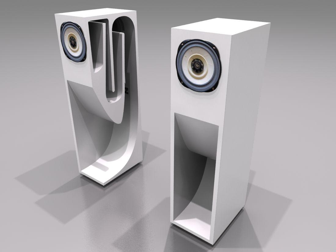 Speaker System DXF File