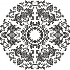 Thai Ornament Free Vector