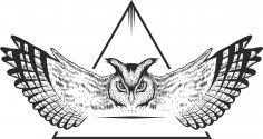 Owl Vector Design Free Vector