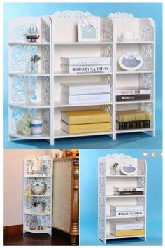 Laser Cut Storage Shelves Racks Free Vector